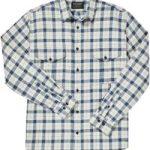 filson-Natural-Blue-Heather-Lightweight-Alaskan-Guide-Shirt