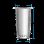 Yeti Rambler 10 oz termostass 5